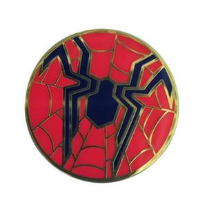 Человек-Паук Мстители Infinity War Жесткий Эмаль Pin Значок