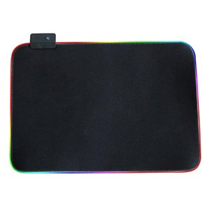 Soft LED Extended RGB [Gaming Mouse Pad] [14 Lighting Modes] [Ultra Thick] USB HUB [ for PC Gamer]