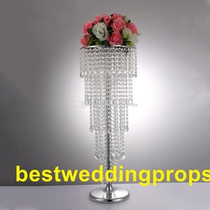 New style wedding aisle crystal pillars Wedding walkway stand Centerpiece for Party Christmas wedding decor best0131
