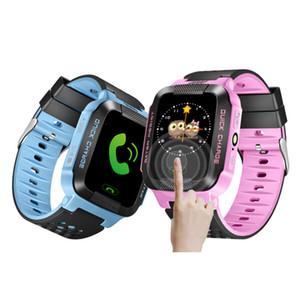 DZ09 U8 시계 대 Y21 GPS 어린이 스마트 시계 안티 - 분실 손전등 아기 스마트 손목 시계 SOS 전화 위치 장치 추적기 아이 안전