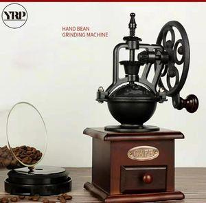 Großhandel Kaffeemühle Hauptdekoration Küchenzubehör Barista Werkzeuge Retro Riesenrad Kaffee Getreidemühle Pfeffermühle Gewürze