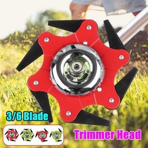 14PCs set 6 3 Blades Cutter Head Grass Trimmer Brush Brush Cutting Head Garden Power Tool Accessories for Lawn Mower