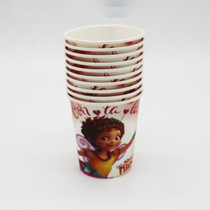 60pcs Fancy Nancy theme disposable tableware sets Fancy Nancy theme plates cups straws Fancy Nancy birthday party decorations