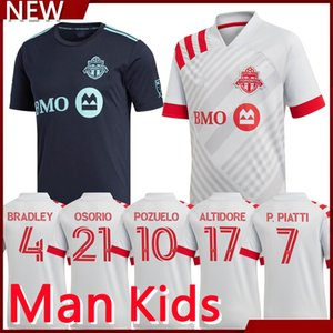 New 20 21 MLS Toronto FC Soccer Jerseys 2021 Home Away Soccer Shirt Toronto Football Uniform man kit and kids kit
