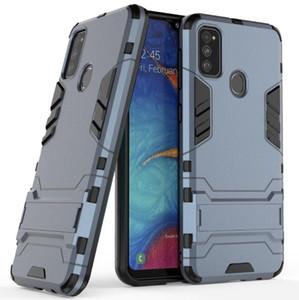 Para M30S Samsung Galaxy Case 2019 robusto soporte combinado híbrido armadura soporte Impacto cubierta de la pistolera para el Samsung Galaxy M30S