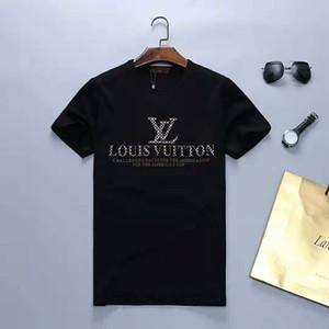 2020 nuovo modo mens tshirt Designers T shirt Uomo Donna 3D Lupo Stampa maglietta di estate di lusso camice Designers T manica corta Tees Dimensioni
