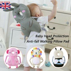 새로운 도착 아기 머리 보호용 패드 유아 머리 받침 베개 아기 목에 귀여운 날개 간호 드롭 저항 쿠션 아기 보호를