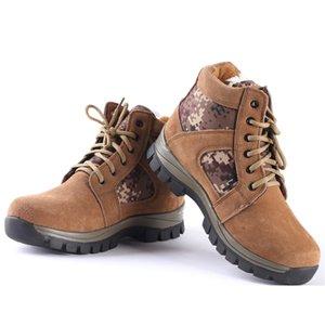 Мужчины Туризм Обувь Non-Slip износостойкие альпинистские ботинки спорта на открытом воздухе Tactical Boots Дышащие Пешеходные кроссовки 12004