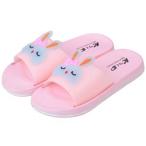 SAGACE Chaussures Femme Mode d'été mignon lapin Cartoon Chaussures plates de haute qualité Salle de bains antidérapante chaussons Ladies Beach Diapositives