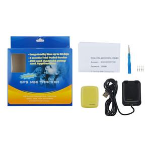 MT90S Anti-perdido Rastreador GPS MT-90S para Animais de Estimação Localizador Pessoal À Prova D 'Água Posição Auto Relatório Mini Dispositivo de Rastreamento Com Caixa