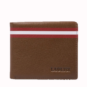 Lucky2019 Leather Genuine Cowhide Short Fund Men And Women Wallet Small Change Card Package