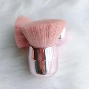 Haute qualité tête aux champignons Nouveau simple brosse gros pinceau poudre libre tête ronde maquillage tête oblique outils de maquillage Beauté