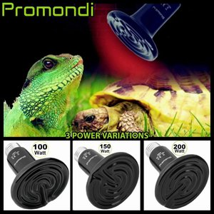 200W 110-130V Ceramic Lamp E27 Pet Heating Lamp Infrared Ceramic Emitter Heat Light Bulb Pet Brooder Chickens Reptile Lamp With DHL Shipping