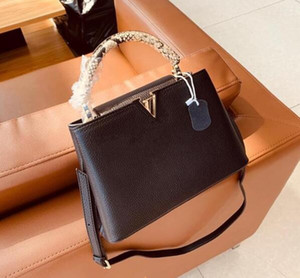 design de luxe Top qualité bb bourse Capucines dames en cuir Bolsas Sacs à bandoulière femmes sac marque de mode messager épaule Duos
