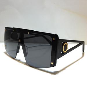 Paketi ile popüler moda güneş gözlüğü UV koruması büyük bağlantı mercek Çerçevesiz Üst Kalite Come kadınlar için 5188 tasarım güneş gözlüğü