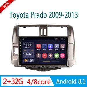 자동차 라디오 안드로이드에 대한 도요타는 WIFI 2.5D 미러 링크입니다 네비게이터 2009-2013 중앙 멀티미디어 플레이어 자동차 스테레오 시스템 GPS를 프라도