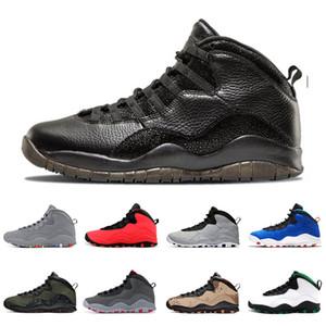 10 10s VO Siyah Beyaz Erkek Basketbol Ayakkabı 2006 Tinker Eğitmenler Spor Ayakkabılar OF Jumpman GS Fusion Kırmızı Westbrook SINIFI