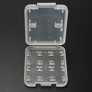 Memory Cases 8 IN 1 Hard Plastic Memory Card Storage Case TF Card Micro SD Store Box Protector Holder Case for