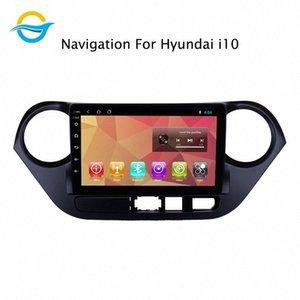 자동차 라디오 멀티미디어 비디오 플레이어 네비게이션 GPS 안드로이드 8.1 9 인치 지원 미러 링크 ForHyundaiGrandi10 자동차 DVD 무료 모바일 DVD를 괞 찮아 IKIH 번호