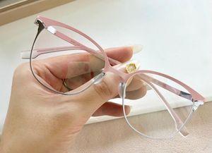 Neue Brillenrahmens Frauen Männer Brillenfassungen Brillenrahmen klare Linse Glasrahmen oculos mit Fall 152