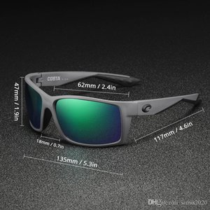 Sonnenbrille polarisierte costa Sonnenbrille Mens Reefton 580P TR90 Radsport Sportbrillen Frauen Angeln Gläser Luxus-Designer-Sonnenbrille UV400