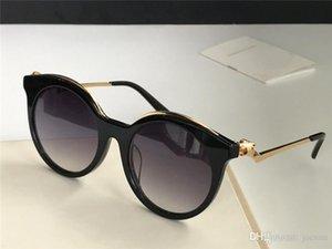 Neue Modedesigner-Sonnenbrille 0118 reizend Katzenaugen kleine Leoparden Kopfrahmen Retro-Avantgarde-Mode-Stil hochwertige Groß