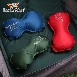 Outdoor Automatic Inflatable Small Pillow Mini Ultralight Portable Air Inflatable Pillow Camping Traveling Working Soft Pillow