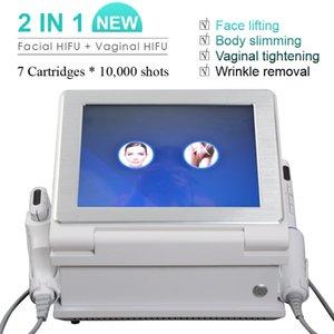 Dans le plus récent 2 1 peau HIFU serrage peau de levage haute intensité réjuvénation vaginale concentré Machine à ultrasons HIFU