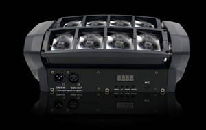 Nouvelle Lyre Led araignée Lumière 8x10W 4in1 RGBW LED Light Party éclairage Faisceau Lyres DMX DJ Lumière