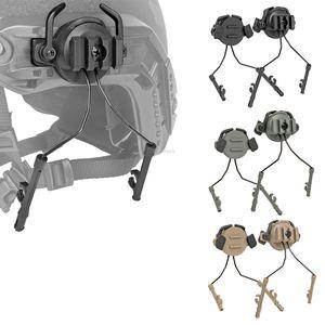 Taktik Kask Raylı Adaptörü Hızlı kask 19-21mm Kılavuz Ray Kulaklık Tutucu Ayarlanabilir Süspansiyon Parantez