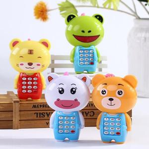Bebek Elektronik Oyuncak Telefon Çocuklar Hayvanlar Sondaj Vokal Müzik Cep Telefonu Eğitim Öğrenme Oyuncaklar İçin Bebek Çocuk