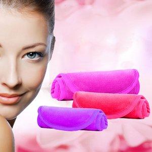 40*17cm Discharge Makeup Towel Reusable Microfiber Women Facial Cloth Magic Face Towel Makeup Remover Skin Cleaning Wash Towels