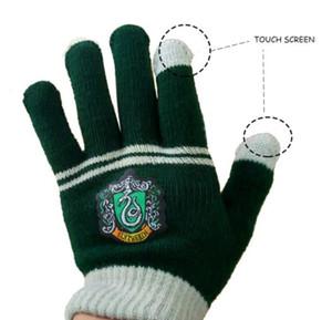 Touch Screen Gloves Harri Potter Party Flag Supplies College Gryffindor Slytherin Hufflerpuff Ravenclaw Kid magic Halloween Gift