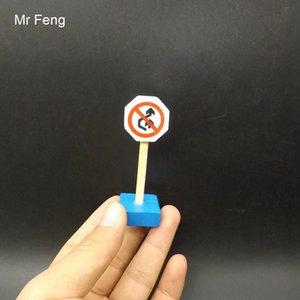 Cérebro Teaser Toy Sinais De Trânsito Modelo Toy Traffic Cena Jogo Educativo Para Crianças (Número Do Modelo I304)