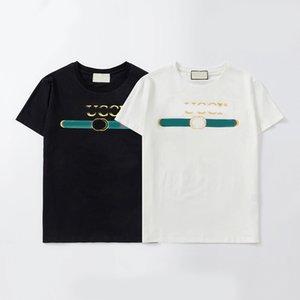 20SS Mens Designer T Shirt Fashion Paris Men Women Couples Casual T Shirt Black White Stylist Shirts Size S-XXL 01