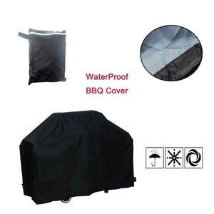 الجملة 5 الحجم الأسود التخييم في الهواء الطلق مقاوم للماء BBQ غطاء من المطر مشويات حماية درع غاز الفحم الكهربائية شواء الشواية