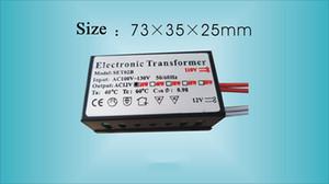 20W 40W 60W 80W 105W 160W Trasformatore Elettronico 12V AC110V Lighting Transformer per Crystal illuminata Lampada alogena al quarzo lampada