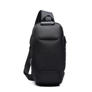Мужчины Открытого мешок плечо водоустойчивая ткань Оксфорд Chest пакет Мода Burglarproof Chest сумка City Walking Рюкзак