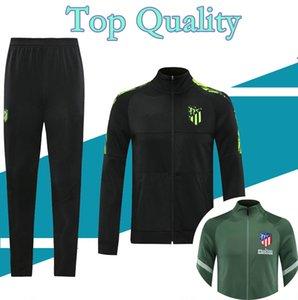 S-XXL 2020 2021 Atletic futbol ceket JOÃO FÉLIX eğitim takım elbise 20/21 camiseta de fútbol LLORENTE futbol dolu fermuar eşofman chándal