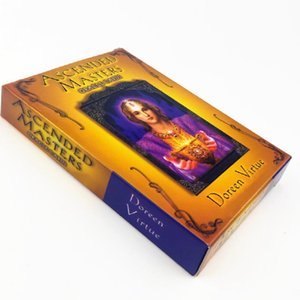 44pcs Ascended Masters Cards Tarot Cards Guidance Divination Fate Table Desk Board Games Cards For Friends Family Party Game