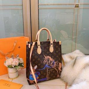 #54663 Naverfull 5A+ L Designer Shopping Bag V Fashion Women Shoulder Bag Classic Lady Messenger Handbags Purse Casual Tote Bags with Clutch
