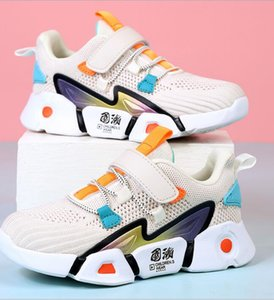 New Boys and girls children's sports shoes summer single mesh breathable student single shoes small medium and large children's fashion sho