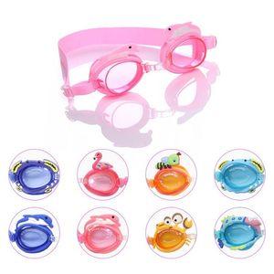 hot Waterproof glasses child swimming mirror small fish crab cartoon boy girl baby training swimming mirror Other PoolsT2I51135
