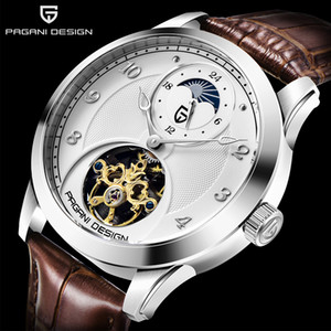 PAGANI Men's watches Mens Watches top brand luxury Automatic mechanical sport watch men wirstwatch Tourbillon Reloj hombres