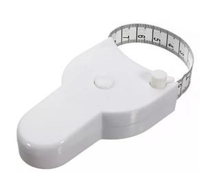 Yüksek Kalite 1.5 m Fitness Doğru Vücut Yağ Kaliper Ölçme Vücut Bant Cetvel Tedbir Teyp Beyaz Vücut Yağ Kaliper Ölçmek