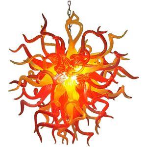 Soplado Lámparas de techo de Arte Moderno Diseñado Murano pendiente de la luz LED de iluminación pendiente barato para la decoración casera Envío gratuito