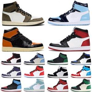 1 1s Travis Scott Jumpman Basketball Shoes Men Women Bloodline Fearless Mens 트레이너 스니커즈