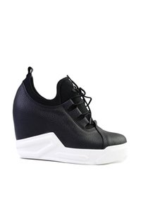 Bambi Mulheres Black 'S Wedges Shoes G0449510417