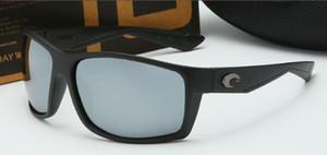 Polarisierte Objektiv Design Sonnenbrille Männer Costa Sonnenbrille Klassische Fahren HD Designer Sonnenbrille UV Schutz Mode Luxus Sport Gläser RIC