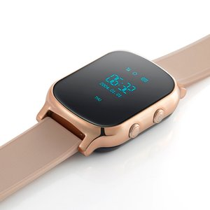 T58 relógio inteligente Crianças Criança Elder Adulto GPS Tracker inteligente Pulseira localizador pessoal GSM Tracking Watch LBS WiFi Chamada Grátis Web APP Realtime